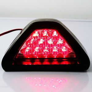 12 LED Flashing Rear Brake Tail Lamp Car Motorcycle 12V Safety Lights Red Color