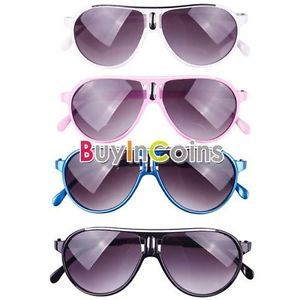 Fashion Cool Baby Kids Children Boy Girl Sunglasses Color Frame Child Goggles 01