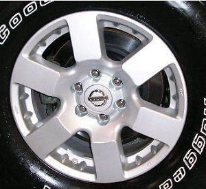 "62448 NISSAN FRONTIER PATHFINDER XTERRA 16"" USED WHEELS CAR RIMS OEM PARTS ALLOY"