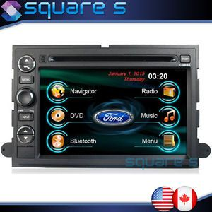 2007 11 Ford Explorer Sport Trac in Dash GPS Navigation DVD Radio Car Audio Deck