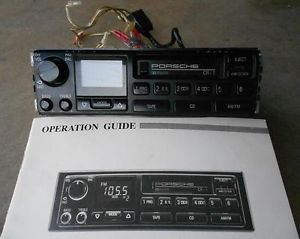 Porsche `CR 1 Car Stereo Radio Cassette Player from `95 Porsche 968 w H Code No