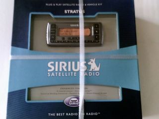 New Sirius Stratus SV3 TK1 Plug Play XM Satellite Radio Vehicle Car Kit 797553120056