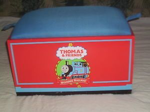 Thomas and Friends Toy Box Wooden Chest Chair Railway Train Set