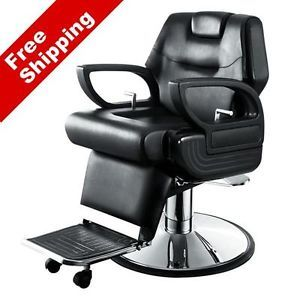 "AGS Salon Equipment New ""Caesar"" Barber Chair Hair Salon Chairs Furniture"