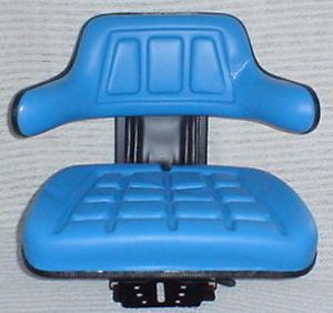 Tractor Seat Blue Fits Ford Models 2000 3000 4000 5000 and More Universal
