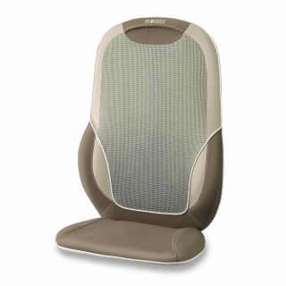 Homedics Total Back Shoulder Shiatsu Massage Cushion with Heat Back Chair Seat