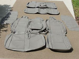 Toyota Tundra Access Cab Leather Seat Covers Seats 2005 2006 38
