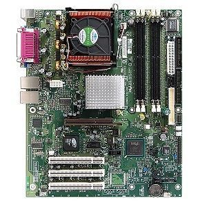 Intel Server Pentium 4 Board with Processor Fan Combo