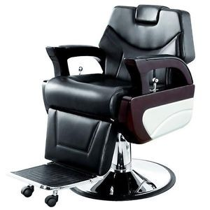 "AGS Salon Equipment ""Augusto"" Classic Barber Chair Hair Salon Chairs Furniture"
