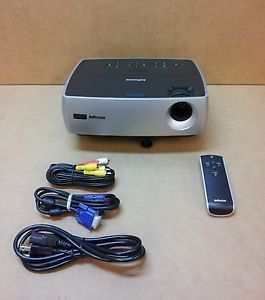 InFocus IN24 W240 DLP Multimedia Home Theater Projector 0 Total Hours