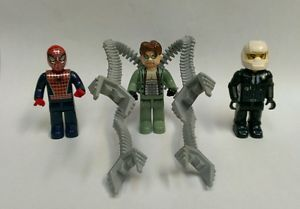Lego Spider Man 2 Doc Ock's Crime Spree 4858 Minifigures RARE