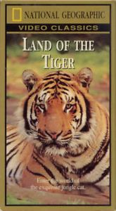Tigers World of Exquisite Jungle Cat Documentary VHS