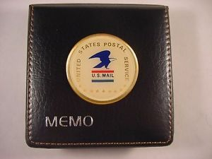 USPS United States Postal Service Logo Desk Memo Note Pad Holder New