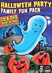 Halloween Family Fun Pack DVD CD Combo Good DVD