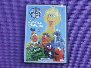 Sesame Streets 25th Birthday A Musical Celebration DVD, 1997