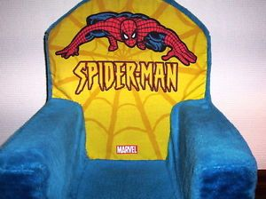 Spiderman Super Hero Foam Plush Chair Child Toddler Soft Plush Marshmallow