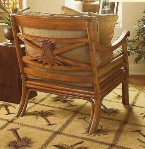 Lexington Tommy Bahama Home Pineapple Accent Chair New