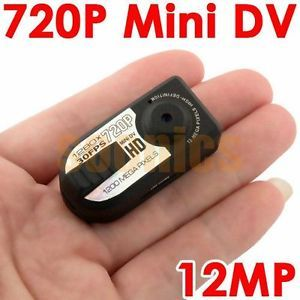 HD Mini 720P Digital Spy Camera Recorder Camcorder DV Car DVR Motion Detection