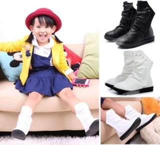 New Hot Babys Toddlers Girls Kids Childrens Princess Martin Boots Rivet Shoes