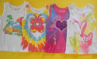Arizona Girls Vibrant Tank Top Shirts 2T 3T 4T