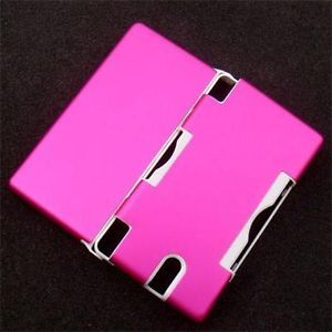 Aluminum Skin Hard Plastic Case Cover for Nintendo DS Lite DSL NDSL Hot Pink