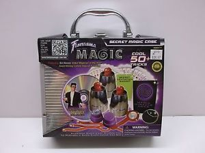 Fantasma Magic Secret Magic Case 50 Tricks Instructional DVD Card Deck 2008