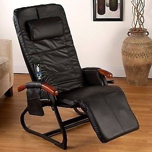 Homedics Destress Spa Recliner Massage Inversion Heat Chair New in Box