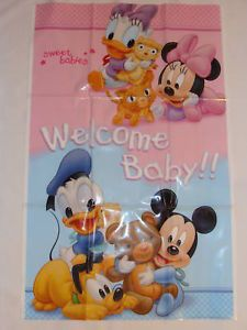 Disney Mickey Minnie Mouse Banner Party Supplies
