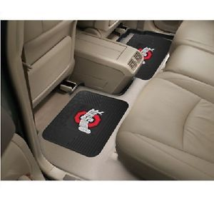 Ohio State Buckeyes 2 PC Heavy Duty Utility Vinyl Car Truck Rear Floor Mats