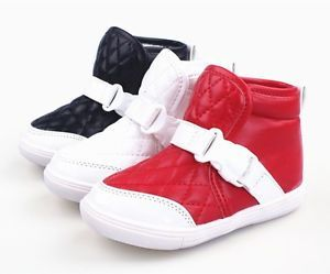 New Fashion Babys Toddlers Girls Boys Kids Childrens Booties Casual Shoes Boots