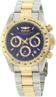 Invicta Men's Silver and Gold Speedway Collection Cougar Chronograph Watch 3644