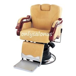 Brand New Traditional Barber Chair Styling Salon Beauty Equipment Damaged