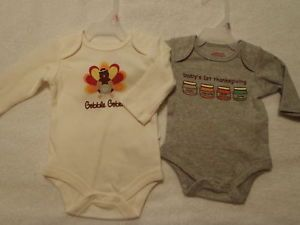 Newborn Baby Girls Boys Choice Thanksgiving Bodysuit