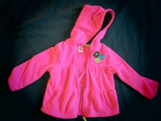 Baby Girl's Toddler Cute Fleece Jacket Hoodie Sweater Size 18M 3T U Pick