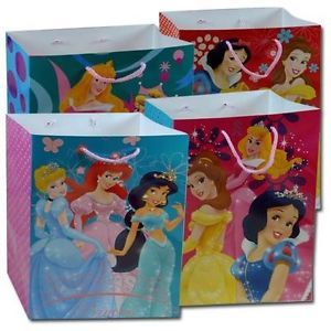Lot 12 Disney Princess Snow White Ariel Belle Goody Party Favors Candy Gift Bags