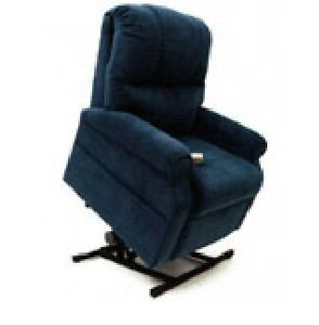 Easy Comfort LC500 Navy Heavy Duty Power Lift Chair Chaise Recliner Free SH
