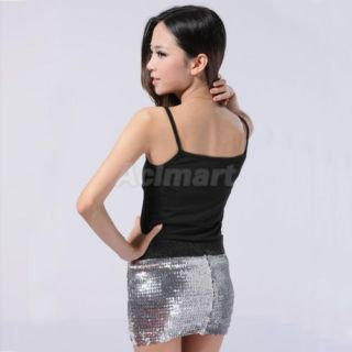 Sexy Clubbing Evening Party Mini Dress Skirts w Sequins