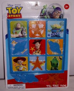 Disney Toy Story Tic Tac Toe Game Birthday Party Favor New
