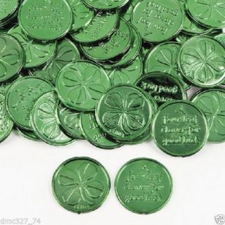 Lot 72 Four Leaf Clover Good Luck Birthday Party Favors St Patricks Day
