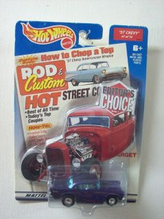 Hot Wheels '57 Chevy Purple Target Editor's Choice Series 1