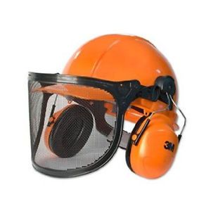 Peltor Lumberjack Series Hardhat Complete Head Face and Hearing Protection