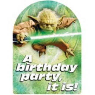 Star Wars Generations Birthday Party Invitations Supplies New