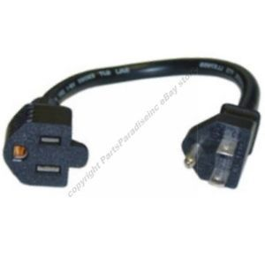 "12""Short Outlet Saver Power Strip Extension Cable Cord"