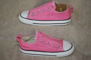 Girls Infant Toddler Pink Converse All Star Slip on Shoes 1372