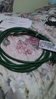 25 Foot Green Extension Cord 300 Volt