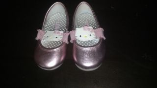 Toddler Girl's Hello Kitty Mary Jane Shoe Pink