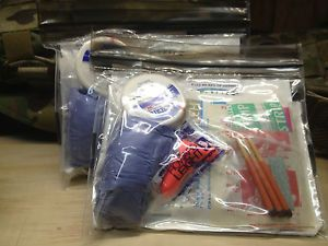 Military IFAK Medical Kit PPE Ultralight EDC or Backpacking First Aid Kit
