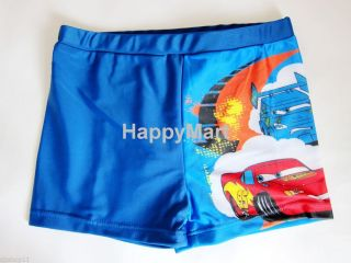 Disney Pixar Cars Lightning McQueen Kids Boys Swimsuits Boxers Briefs 2 7T