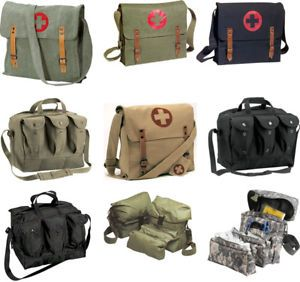 Military Medic Kit First Aid Equipment Shoulder Bag
