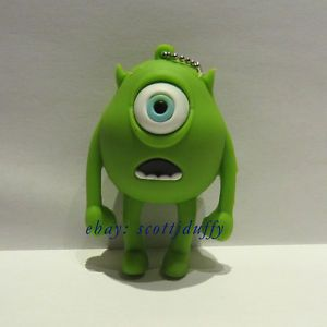 8GB Monsters Inc Mike Wazowski USB Flash Drive  Memory Stick